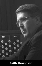 Keith Thompson, Organist